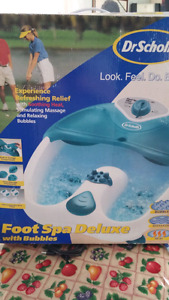 Water feet electric massager