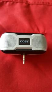 COBY CS-MP 23 portable mini sterio speaker system