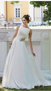 Justin Alexander Style 8694 - Ivory