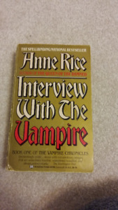 Interview with the Vampire by Anne Rice Book FOR SALE