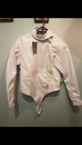 Fencing uniform.  Jacket