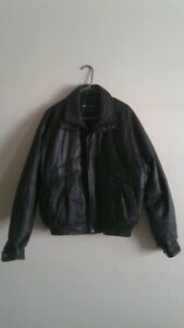 Men's Pelle Cuir Black Leather Jacket