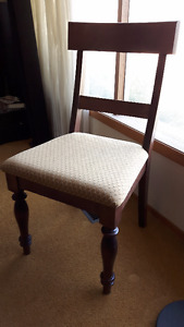 VERY NICE, Like New,  SOLID WOOD SIDE CHAIR, Quality Made