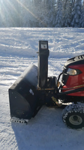 NEW! MTD 42 inch Three-Stage Snow Thrower Attachment