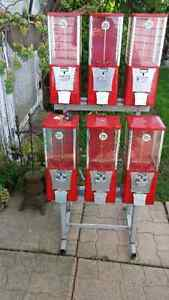 6 container candy vending machine