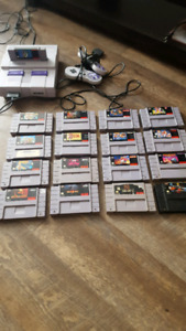 snes super nintendo bundle sale or trade