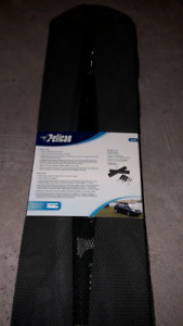 Pelicans can carry?  Rooftop kayak carrier kit.  Brand new.