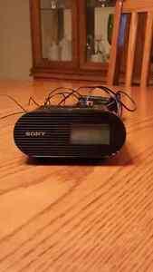 Sony Alarm Clock with IPod/IPhone Dock
