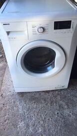 White Beko 7kg 1300 Spin Washing Machine Fully Working Order £75 Sittingbourne