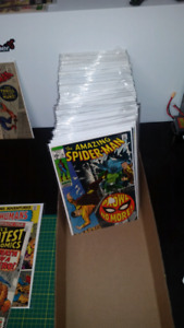 Amazing Spider-man comic book collection for sale