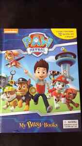 Paw Patrol My Busy Books - Brand New Condition