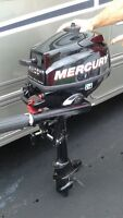 Mercury 2.5 hp Four Strokes Outboard Engine for Sale