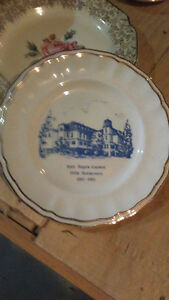 Holy Angel's 100th anniversary plate