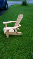 HANDMADE FOLDING WOODEN CHAIRS