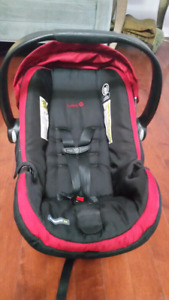 Click connect safety fist car seat and stroller