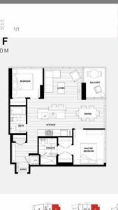 2BED/2BA - Station Square 1 - 3 years old Apartment in Metrotown