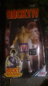 ROCKY ACTION FIGURES FROM THE MOVIES