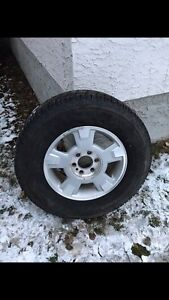 Arctic claw winter tires with rims  Strathcona County Edmonton Area image 1