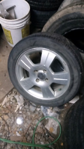 16 inch Ford Focus rims and tires