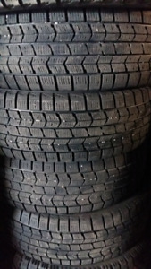 WINTER TIRES + - RIMS  195 /65/R15