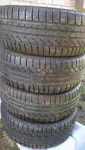 Continental 225/55 R16 winter/snow tires