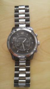 Michael Kors Gunmetal Watch MK8182 & Fossil Watch JR9121 (Mens)