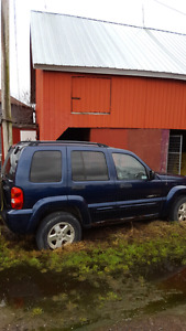 2002 Jeep Liberty for parts