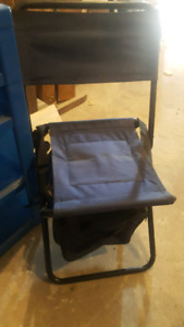 Camping/sports chair with cooler