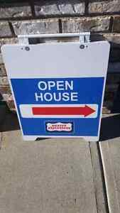 Open House and Sign Posts
