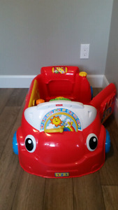 Fisher Price laugh and learn car