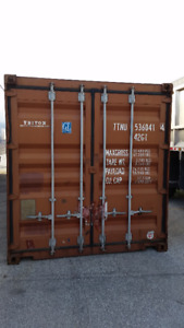 Shipping and Storage containers in great used shape for sale
