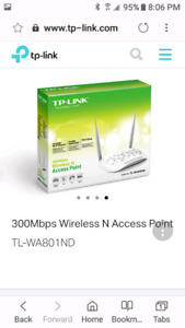 TP-LINK 300MB Wireless and Access Point
