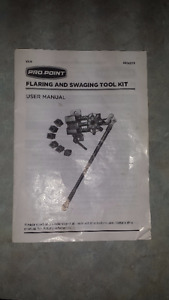 PRO-POINT FLARING AND SWAGING TOOL KIT