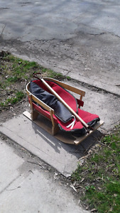 Wooden child's sled FREE