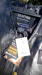 Leather 3X, Mens Christian Vest! Christmas Gift, Biker Peterborough Peterborough Area image 2