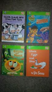 Leap Frog Tag Pen, Board & 4 Books Cambridge Kitchener Area image 2