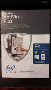 Mcafee AntiVirus Plus. Regular Price$59.99. My price$25