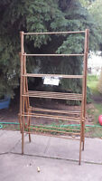 Vintage Clothes Drying Rack