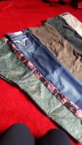 Pantalons et jeans pour femme gr 30 et 10