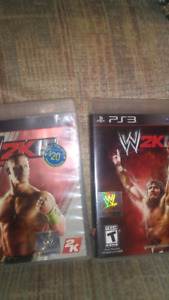 Wwe wrestling games. Ps3
