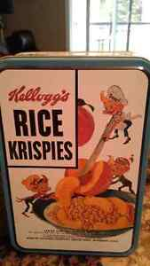 Kelloggs rice Kri spies tin London Ontario image 1