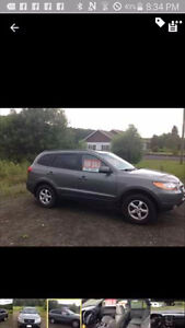 2009 santa fe 4x4 now 7000 only! quick sale!