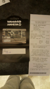 Gift card for West 49