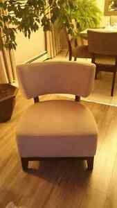 Accent chair $150.00 firm.