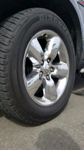 COOPER TIRES AND RAM WHEELS