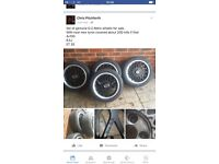 4x100 O.Z Retro Alloy Wheels