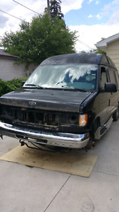 2000 E150 STARCRAFT COVERSION VAN PARTING OUT
