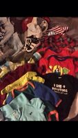 Selling huge boys lot for 30 dollars size 3 to six months