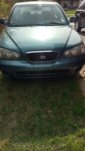 2003 Hyundai Elantra Sedan $1200 as is