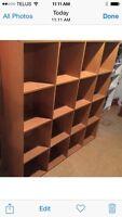 "4'10"" Wine rack / Book shelf"